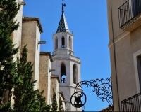 Vilafranca campanar de Sta. Maria